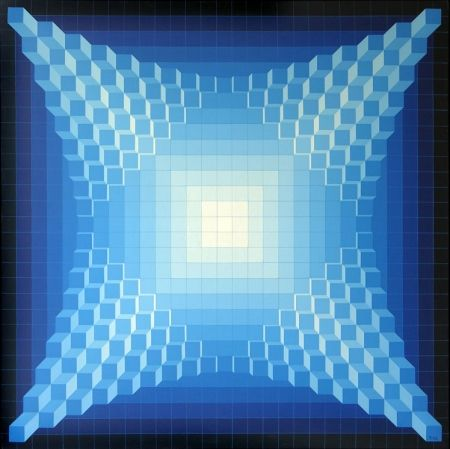 技術的なありません Yvaral - Structure Cubique Quadri B
