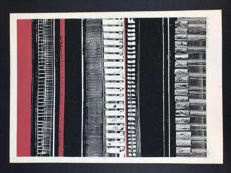 シルクスクリーン Pomodoro -  Strutturazione, 19655