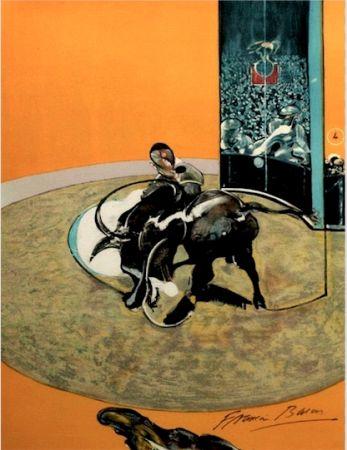 リトグラフ Bacon - Study for bullfight, n° 2