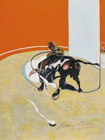リトグラフ Bacon - Study for bullfight, n° 3