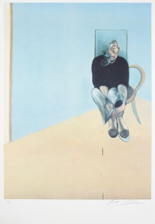 オフセット Bacon - Study For Selfportrait, 1984