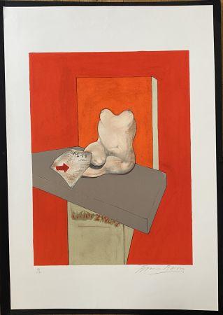 リトグラフ Bacon - Study of a human body after Ingres