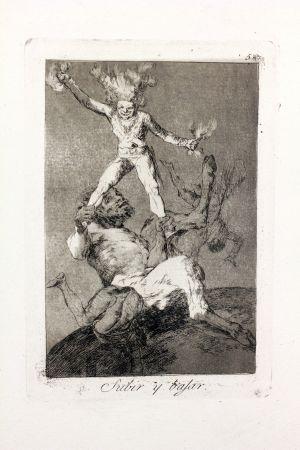 エッチングと アクチアント Goya - Subir y bajar