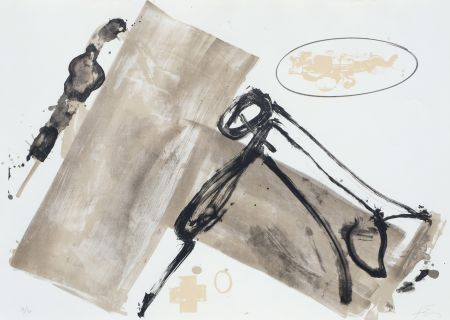 リトグラフ Tapies - Suite 63 X 90 (No 1)