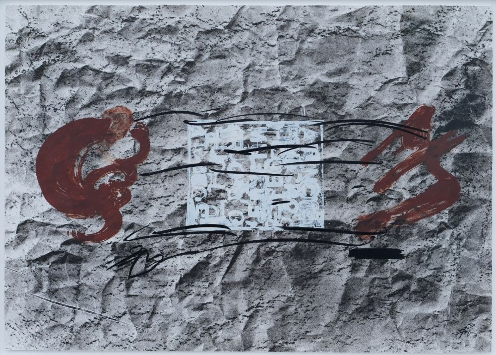 リトグラフ Tapies - Suite 63 x 90 (No 10)