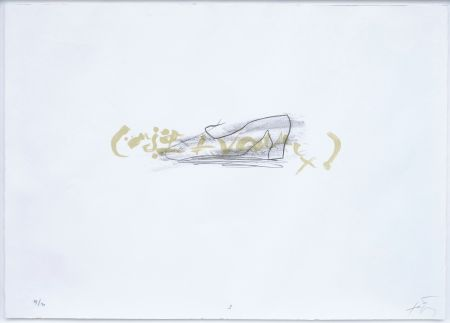リトグラフ Tapies - Suite 63 X 90 (No 3)