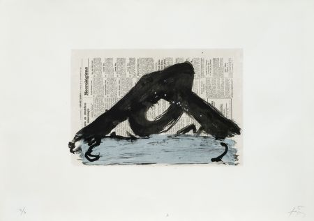リトグラフ Tapies - Suite 63 X 90 (No 7)