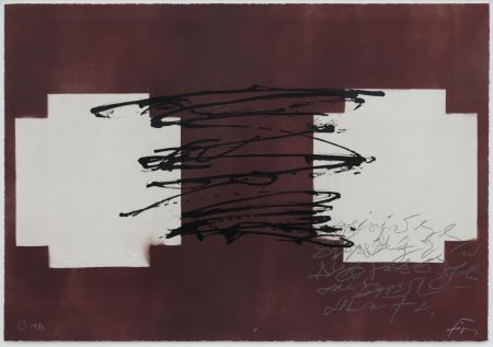 リトグラフ Tapies - Suite 63 X 90 (No 8)