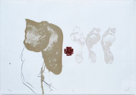 リトグラフ Tapies - Suite 63 X 90 (No 9)