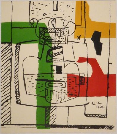 挿絵入り本 Le Corbusier - Suite de dessins