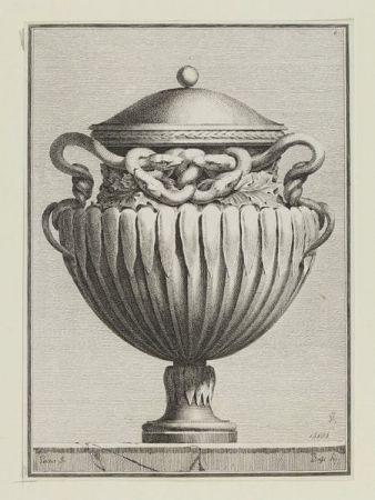 彫版 Petitot - Suite des vases tirée du cabinet de Monsieur...