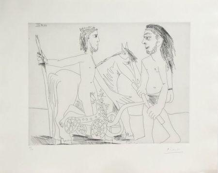 エッチング Picasso - Suite