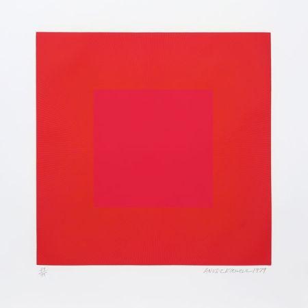アクチアント Anuszkiewicz - Summer Suite (Red with Gold IV)