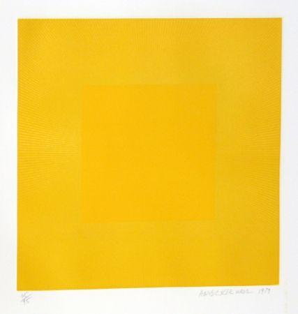 エッチングと アクチアント Anuszkiewicz - Summer Suite (Yellow with Yellow)