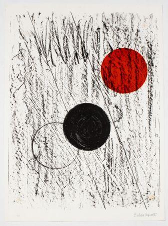 リトグラフ Hepworth - Sun and Moon