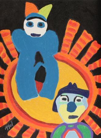 彫版 Appel - Sun of the incas