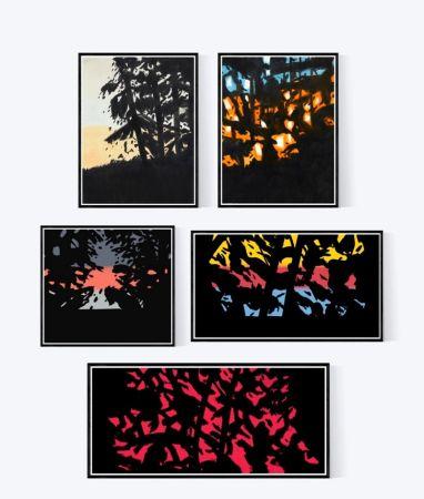 エッチングと アクチアント Katz - Sunrise - Sunset | Landscape Portfolio