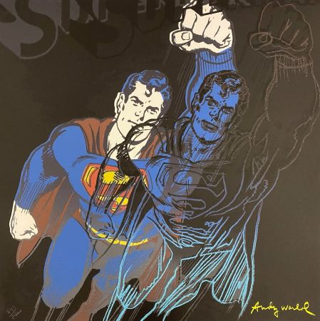 オフセット Warhol - Superman