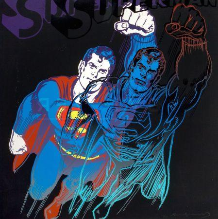 シルクスクリーン Warhol - Superman (FS II.260)