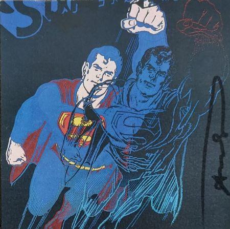 シルクスクリーン Warhol - Superman