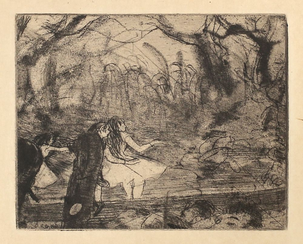 エッチングと アクチアント Degas - Sur la scène 3