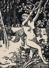 木版 Lepere - Susanna et les vieillards