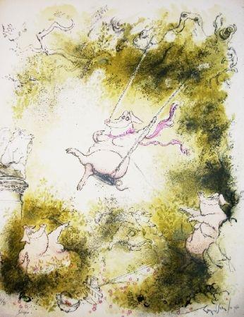 リトグラフ Searle - Swinger