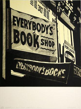 リトグラフ Cottingham - Switzerland Everybody´s bookshop