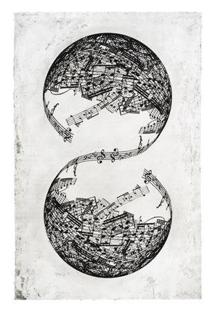 彫版 Plensa - Symétrie