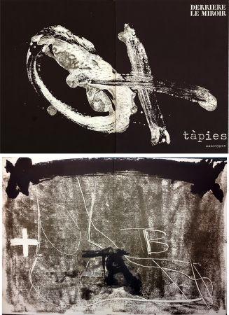 挿絵入り本 Tapies - TÀPIES. Monotypes . Derrière le Miroir n° 210. Juin 1974