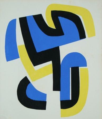 ステンシル Dewasne - Témoignages pour l'art abstrait