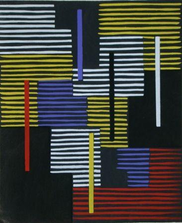 ステンシル Fleischmann - Témoignages pour l'art abstrait