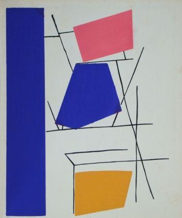 ステンシル Mortensen - Témoignages pour l'art abstrait