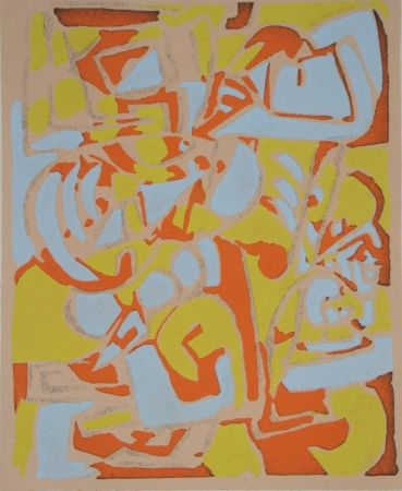 ステンシル Raymond - Témoignages pour l'art abstrait