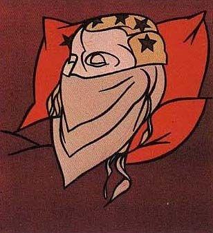 リトグラフ Adami - Tête de femme