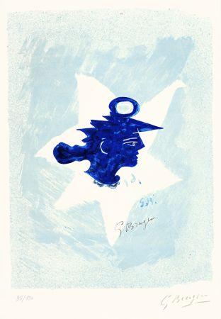 リトグラフ Braque - Tête grecque (Grecian Head)