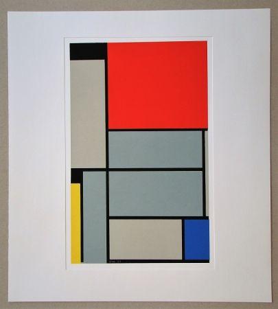 シルクスクリーン Mondrian - Tableau I. - 1921