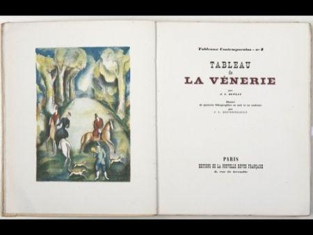 挿絵入り本 Boussingault - Tableaux contemporains: Tableau des Courses, de la Boxe, de la Vénérie, de l'Amour Vénal, des Grands Magasins, de la Mode, de l'Au-Delà, du Palais, de la Bourgeoisie.