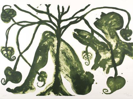 リトグラフ Toguo - Take a Green Breath