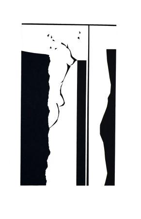 シルクスクリーン Jacobson - Talaiot I