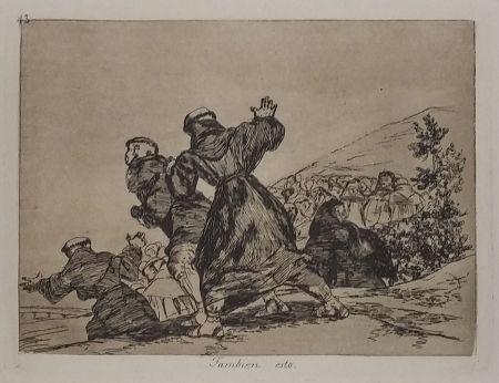 彫版 Goya - TAMBIEN ESTO