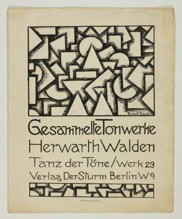 リトグラフ Bauer - Tanz der Töne (Dance of Sounds)