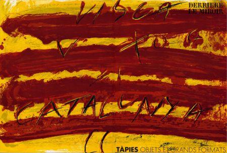 挿絵入り本 Tapies - TAPIES : Objets et grands formats. DERRIÈRE LE MIROIR N° 200. 1972