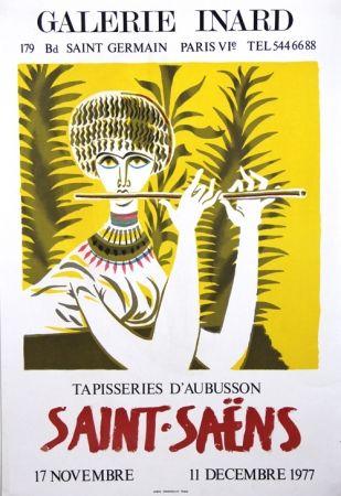 リトグラフ Saint Saens - Tapisseries D'Aubusson Galerie Inard