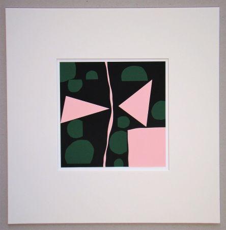 シルクスクリーン Mortensen - Tavignano - 1964