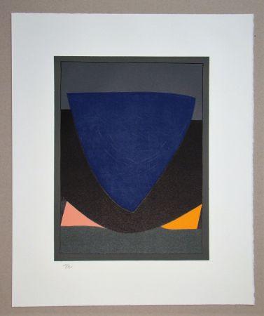 リトグラフ Vasarely - Tecoma