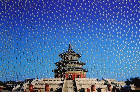 シルクスクリーン Yan - Temple of Heaven