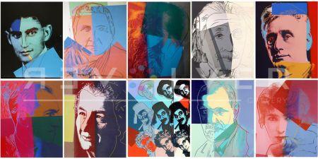 シルクスクリーン Warhol - Ten Portraits of Jews of the Twentieth Century (Trial Proof) (Full Suite)