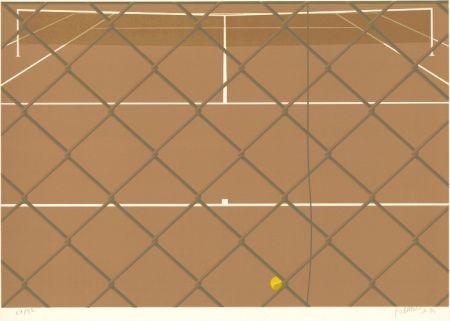 リトグラフ Babou - Tennis