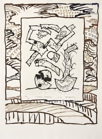 彫版 Alechinsky - Terrain propice